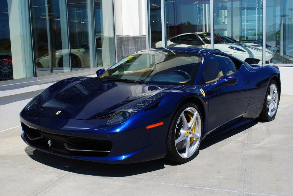 2010 FERRARI 458 ITALIA